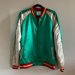 GUCCI VIBES! Embroidered Track Jacket